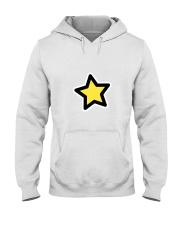 dup stars pixel Hooded Sweatshirt tile