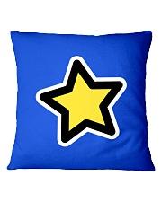 dup stars pixel Square Pillowcase tile