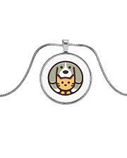 catdog044 Metallic Circle Necklace thumbnail