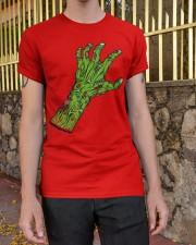 Zombie-01 Classic T-Shirt apparel-classic-tshirt-lifestyle-21