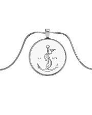 Festina Lente Jewelry Metallic Circle Necklace thumbnail