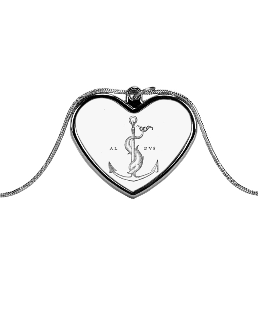 Festina Lente Jewelry Metallic Heart Necklace