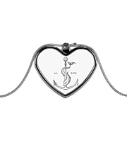 Festina Lente Jewelry Metallic Heart Necklace front
