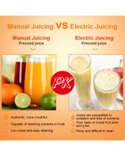 Reg25aug-ds Stainless Steel Manual Juicer front-05