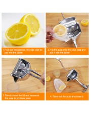Reg25aug-ds Stainless Steel Manual Juicer front-06