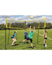 Reg25aug-ds Four Sided Volleyball Net - Standard tile