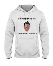 Created to shine Hooded Sweatshirt front