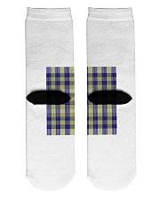 Woven Pattern Crew Length Socks back