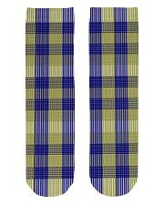 Woven Pattern Crew Length Socks front