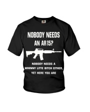 No body need an AR15 Youth T-Shirt tile