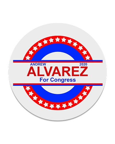Andrew Alvarez for Congress 2022 Coaster