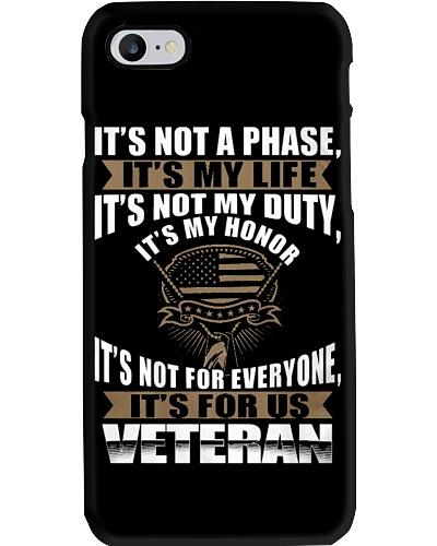Veteran - Its My Life My Honor
