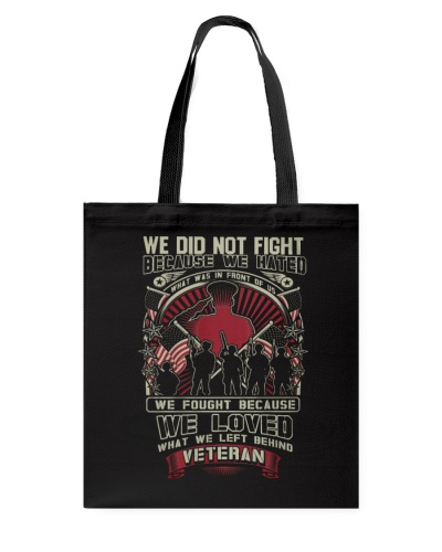 Limited Edition - Veteran Fought Because