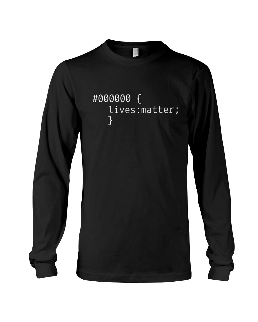 Bonfire Merch #000000 Lives Matter Shirt