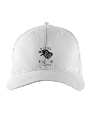 A Girl Has No Name Embroidered Hat thumbnail