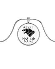 A Girl Has No Name Metallic Circle Necklace thumbnail