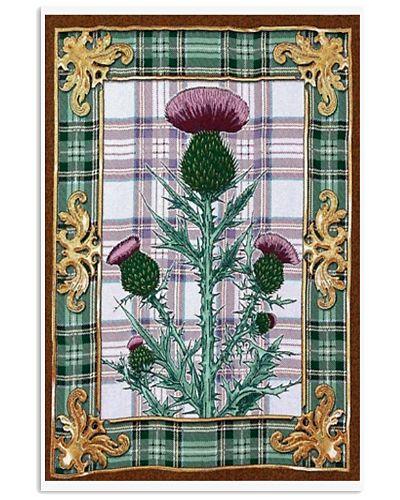 Scottish thistle Vintage reprint