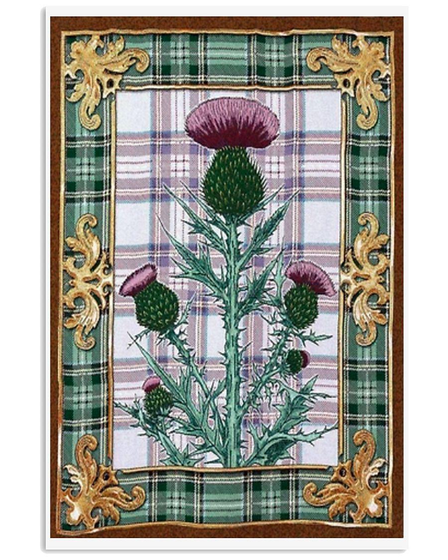 Scottish thistle Vintage reprint 11x17 Poster