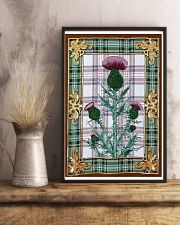 Scottish thistle Vintage reprint 11x17 Poster lifestyle-poster-3