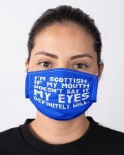 SCOTTISH EYES  Cloth Face Mask - 3 Pack aos-face-mask-lifestyle-01