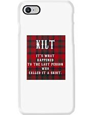 SCOTTISH KILT Phone Case thumbnail