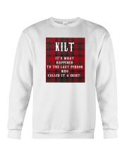 SCOTTISH KILT Crewneck Sweatshirt thumbnail