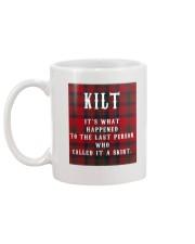 SCOTTISH KILT Mug back