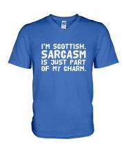 I'M SCOTTISH V-Neck T-Shirt thumbnail