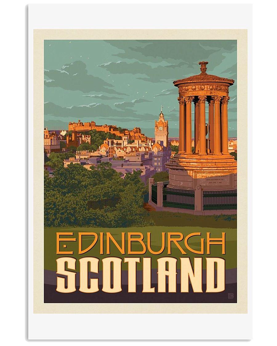 EDINBURGH TRAVEL VINTAGE REPRINT 11x17 Poster
