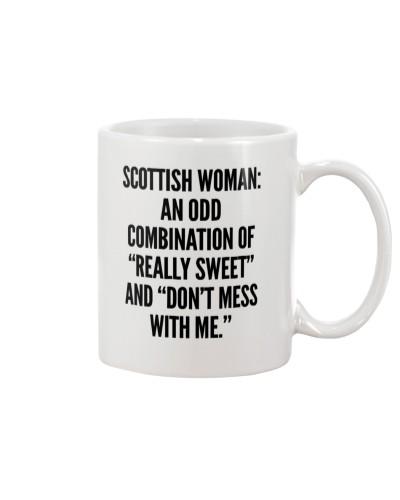 SCOTTISH WOMAN COMBINATION