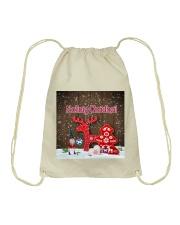 GAELIC MERRY CHRISTMAS - Nollaig Chridheil Drawstring Bag thumbnail