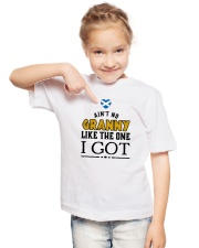AIN'T NO GRANNY LIKE I GOT Youth T-Shirt lifestyle-youth-tshirt-front-2
