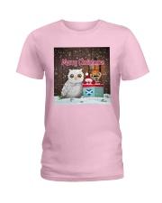 SCOTTISH MERRY CHRISTMAS Ladies T-Shirt thumbnail