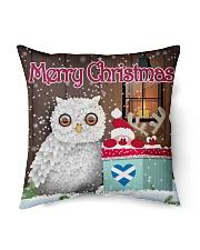 "SCOTTISH MERRY CHRISTMAS Indoor Pillow - 16"" x 16"" thumbnail"