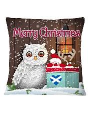 SCOTTISH MERRY CHRISTMAS Square Pillowcase front