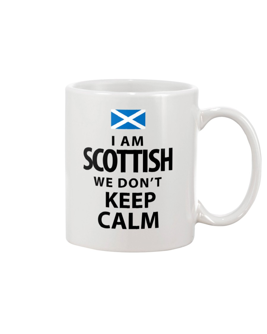 WE DON'T KEEP CALM Mug