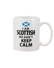 WE DON'T KEEP CALM Mug front