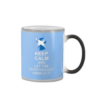 KEEP CALM AND LET THE SCOTTISH GUY HANDLE IT Color Changing Mug thumbnail