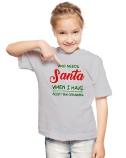 WHO NEED SANTA WHEN I HAVE SCOTTISH GRANDMA Youth T-Shirt lifestyle-youth-tshirt-front-2