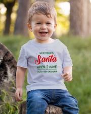 WHO NEED SANTA WHEN I HAVE SCOTTISH GRANDMA Youth T-Shirt lifestyle-youth-tshirt-front-4