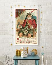 CHRISTMAS GREETINGS - SCOTTISH SANTA 11x17 Poster lifestyle-holiday-poster-3