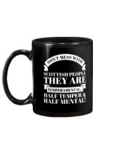 DON'T MESS WITH SCOTTISH PEOPLE Mug back