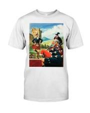 SCOTLAND VINTAGE REPRINT Classic T-Shirt thumbnail