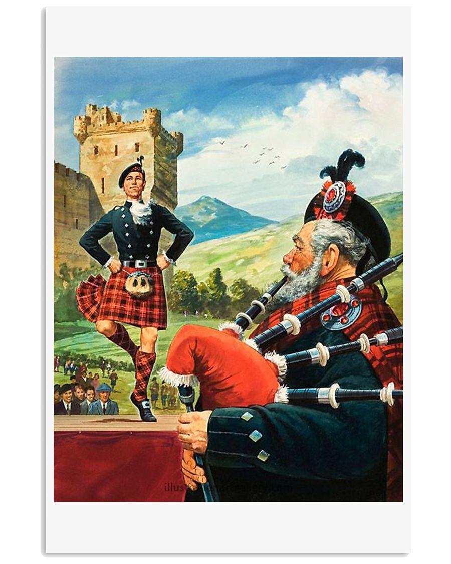 SCOTLAND VINTAGE REPRINT 11x17 Poster