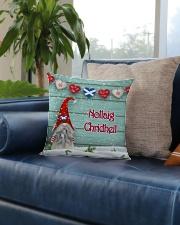 GAELIC MERRY CHRISTMAS Square Pillowcase aos-pillow-square-front-lifestyle-02