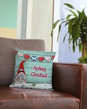 GAELIC MERRY CHRISTMAS Square Pillowcase aos-pillow-square-front-lifestyle-03