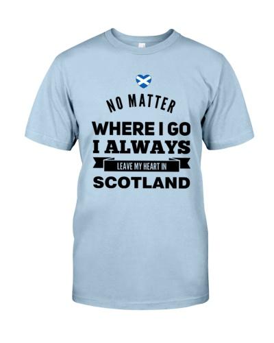 I ALWAYS LEAVE MY HEART IN SCOTLAND