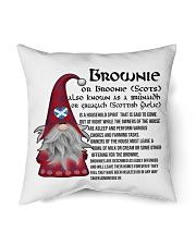 "BROWNIE SCOTTISH Indoor Pillow - 16"" x 16"" thumbnail"