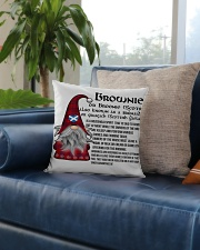 BROWNIE SCOTTISH Square Pillowcase aos-pillow-square-front-lifestyle-02