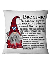 BROWNIE SCOTTISH Square Pillowcase front